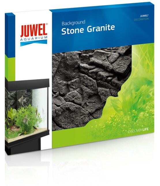 Juwel Stone Granite 3D bakgrunnur í fiskabúr