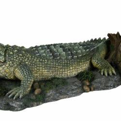 crocodile with air pump fiskaburaskraut