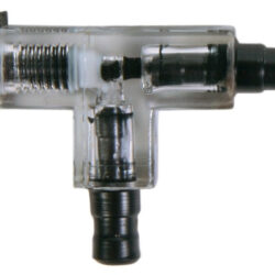 T-connector with valve O5mm